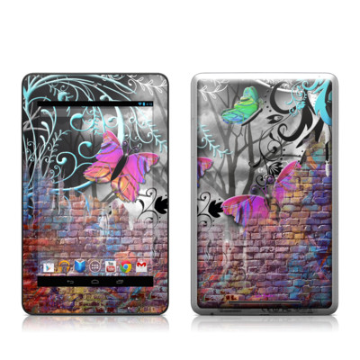 Google Nexus 7 Tablet Skin - Butterfly Wall