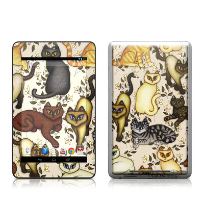 Google Nexus 7 Tablet Skin - Cats