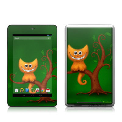 Google Nexus 7 Tablet Skin - Cheshire Kitten