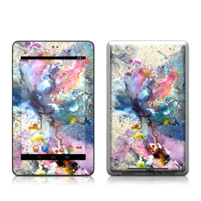 Google Nexus 7 Tablet Skin - Cosmic Flower