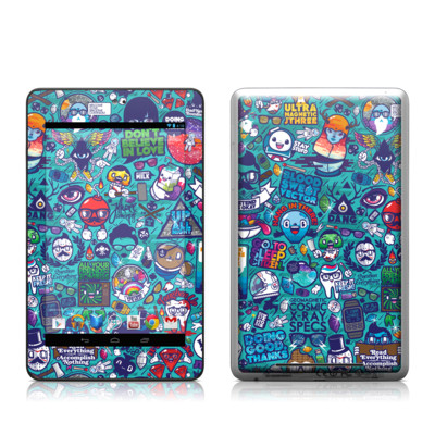 Google Nexus 7 Tablet Skin - Cosmic Ray