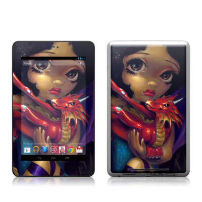 Google Nexus 7 Tablet Skin - Darling Dragonling
