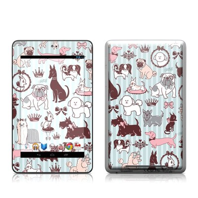 Google Nexus 7 Tablet Skin - Doggy Boudoir