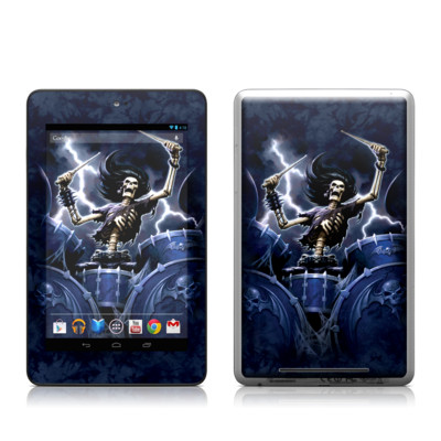 Google Nexus 7 Tablet Skin - Death Drummer
