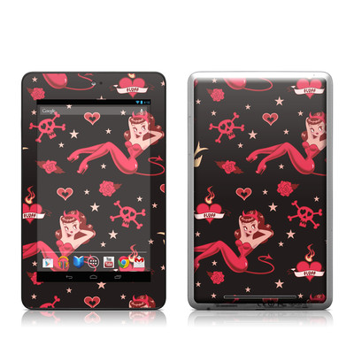 Google Nexus 7 Tablet Skin - Devilette