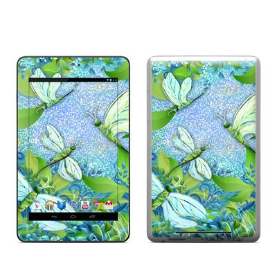 Google Nexus 7 Tablet Skin - Dragonfly Fantasy