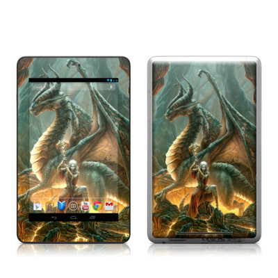 Google Nexus 7 Tablet Skin - Dragon Mage