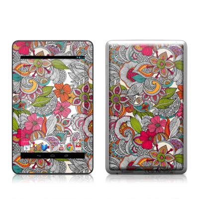 Google Nexus 7 Tablet Skin - Doodles Color