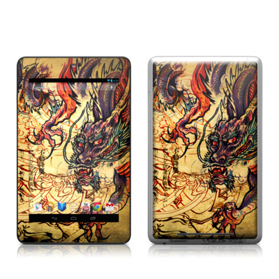 Google Nexus 7 Tablet Skin - Dragon Legend
