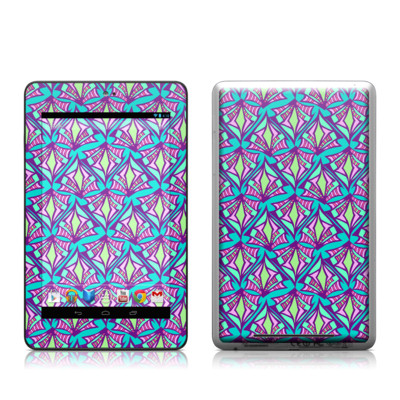 Google Nexus 7 Tablet Skin - Fly Away Teal