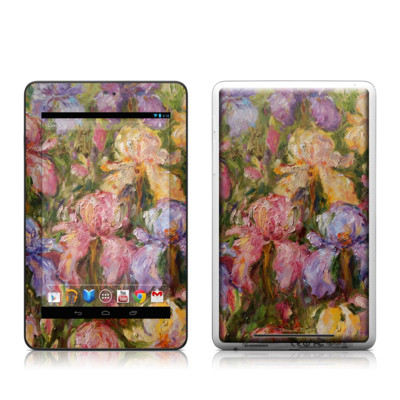 Google Nexus 7 Tablet Skin - Field Of Irises