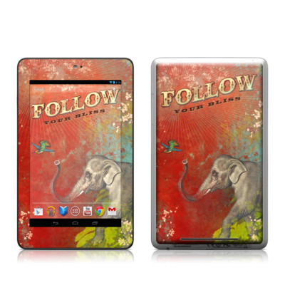 Google Nexus 7 Tablet Skin - Follow Your Bliss