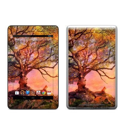 Google Nexus 7 Tablet Skin - Fox Sunset