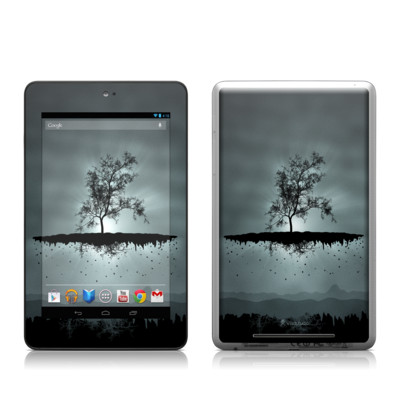 Google Nexus 7 Tablet Skin - Flying Tree Black