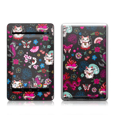 Google Nexus 7 Tablet Skin - Geisha Kitty