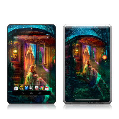 Google Nexus 7 Tablet Skin - Gypsy Firefly