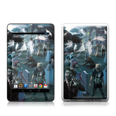 Google Nexus 7 Tablet Skin - Graveyard