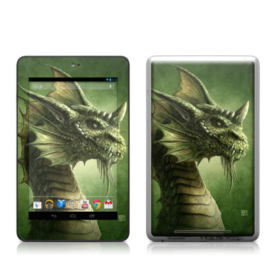 Google Nexus 7 Tablet Skin - Green Dragon