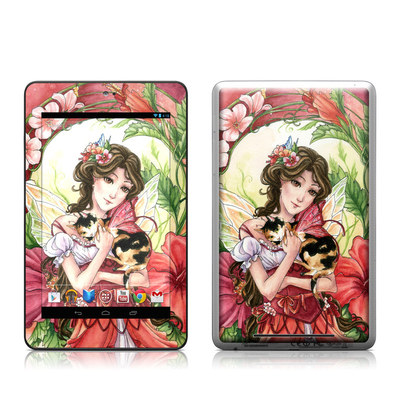 Google Nexus 7 Tablet Skin - Hibiscus Fairy