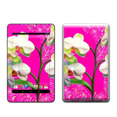 Google Nexus 7 Tablet Skin - Hot Pink Pop