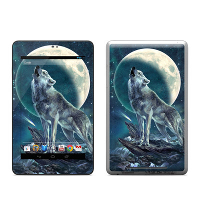Google Nexus 7 Tablet Skin - Howling Moon Soloist