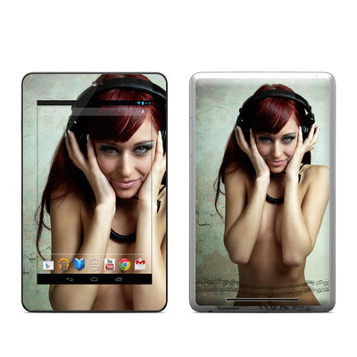 Google Nexus 7 Tablet Skin - Headphones