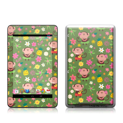 Google Nexus 7 Tablet Skin - Hula Monkeys