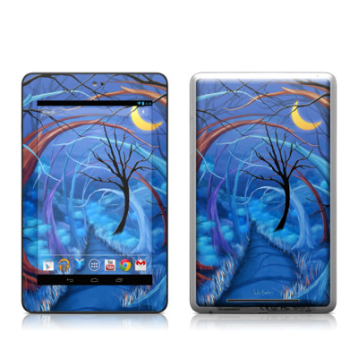 Google Nexus 7 Tablet Skin - Ichabods Forest
