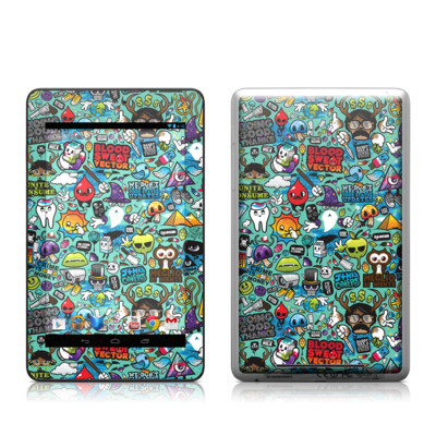 Google Nexus 7 Tablet Skin - Jewel Thief