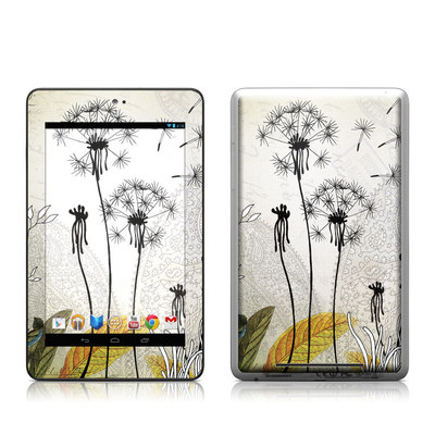 Google Nexus 7 Tablet Skin - Little Dandelion