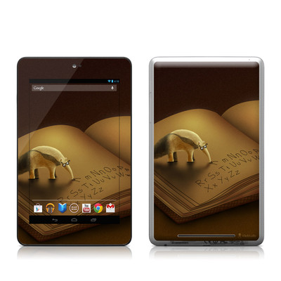 Google Nexus 7 Tablet Skin - Lettereater