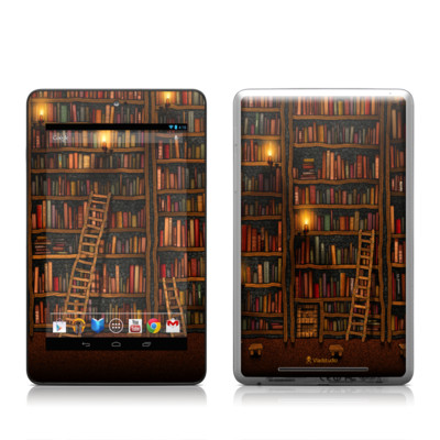 Google Nexus 7 Tablet Skin - Library