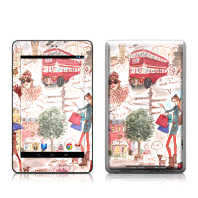 Google Nexus 7 Tablet Skin - London