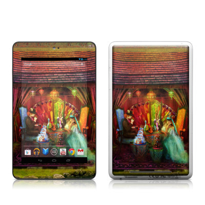 Google Nexus 7 Tablet Skin - A Mad Tea Party