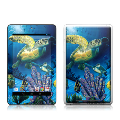 Google Nexus 7 Tablet Skin - Ocean Fest
