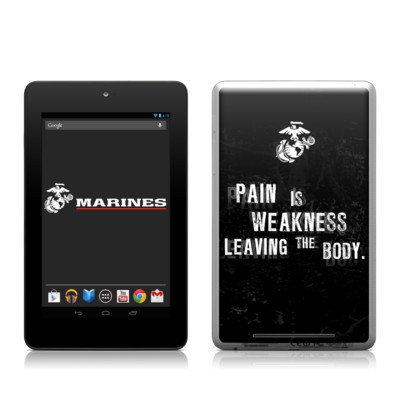 Google Nexus 7 Tablet Skin - Pain
