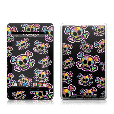 Google Nexus 7 Tablet Skin - Peace Skulls
