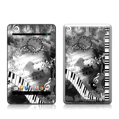 Google Nexus 7 Tablet Skin - Piano Pizazz