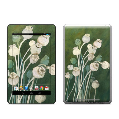 Google Nexus 7 Tablet Skin - Poppy Pods