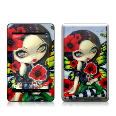 Google Nexus 7 Tablet Skin - Poppy Magic