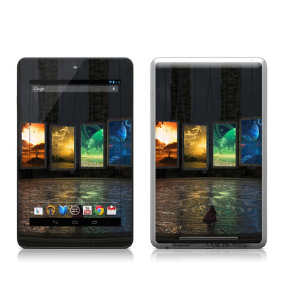 Google Nexus 7 Tablet Skin - Portals