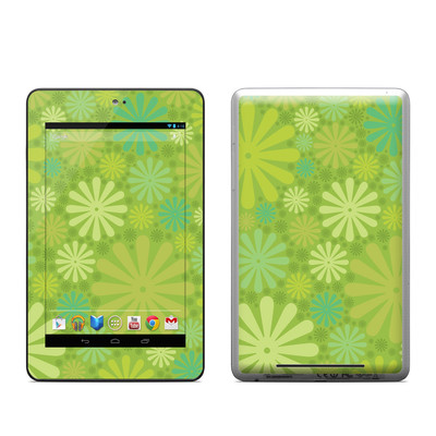 Google Nexus 7 Tablet Skin - Lime Punch