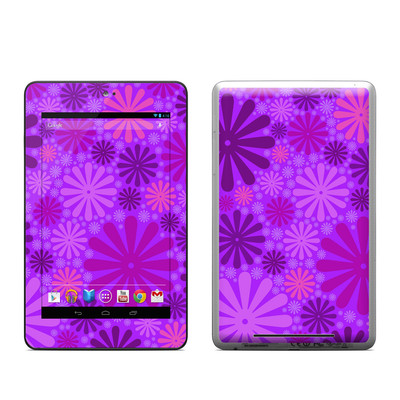 Google Nexus 7 Tablet Skin - Purple Punch