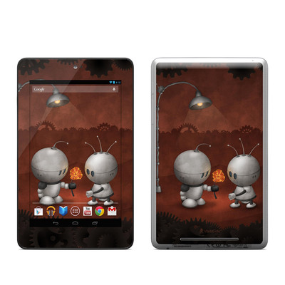 Google Nexus 7 Tablet Skin - Robots In Love