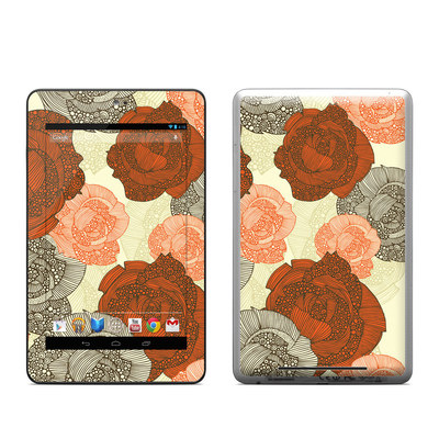 Google Nexus 7 Tablet Skin - Roses