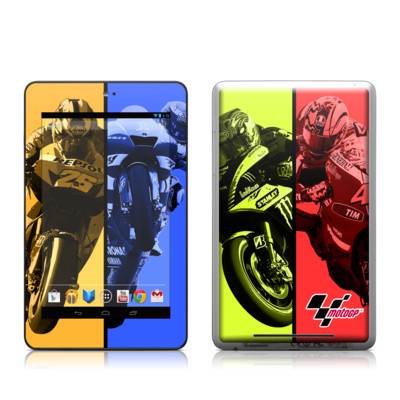 Google Nexus 7 Tablet Skin - Race Panels