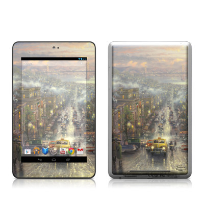Google Nexus 7 Tablet Skin - Heart of San Francisco