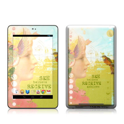 Google Nexus 7 Tablet Skin - See Believe