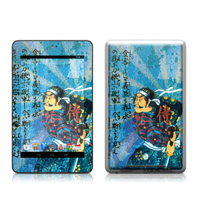 Google Nexus 7 Tablet Skin - Samurai Honor