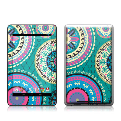 Google Nexus 7 Tablet Skin - Silk Road